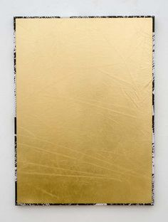 Roman Liška - Gold dazzle frame small (II), 2012 Palm Angels, Roman, Frame, Gold, Landscape, Gallery, Scenery, Roof Rack, A Frame