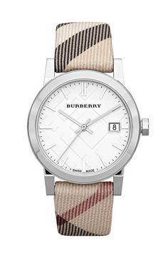 Nice Burberry watch.
