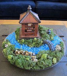 Make your own Miniature Japanese Garden!