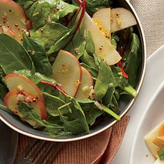 Apple Salad with Mustard Dressing Recipe