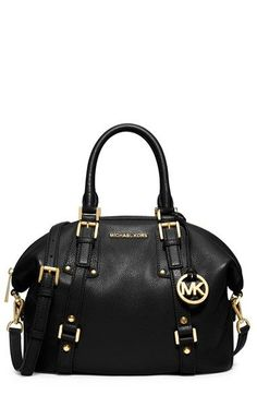 Free shipping and returns on MICHAEL Michael Kors 'Medium Bedford' Satchel at Nordstrom.com. A spacious, vintage-inspired satchel takes a sophisticated turn with gleaming goldtone logo hardware and belted straps accentuating the structured silhouette.