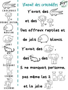 French Teaching Resources, Teaching French, Agnus Day, French Poems, French Immersion, Circle Time, Lus, Preschool Worksheets, Science Experiments