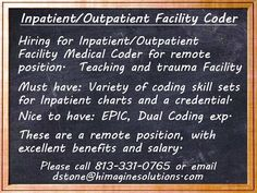 Long-term opportunities of years! Medical Coder, Healthcare Jobs, 3 Years, Trauma, Health Care, Coding, Positivity, Teaching, 3 Year Olds
