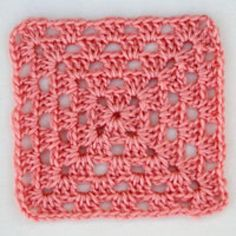 Beginner's Crochet Granny Square - Beginner's Crochet Granny Square -- Photo © Amy Solovay