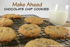 Lysha @ a Camera & a Cookbook shares 12 delightful Christmas treat recipes for this holiday season.  Today she is sharing Chocolate Chip Cookies - A must try recipe!