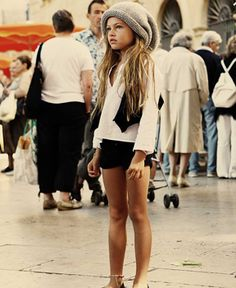 Ummm... can I dress like this 8 year old? Please!