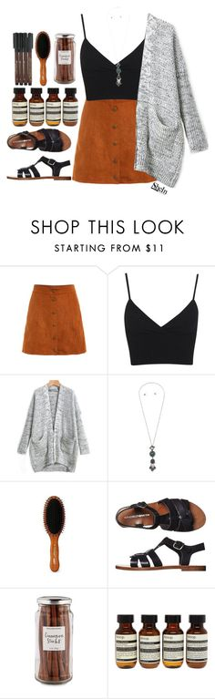 """""""#Shein"""" by credentovideos ❤ liked on Polyvore featuring Miss Selfridge, Acca Kappa, Windsor Smith, Williams-Sonoma, Aesop and Faber-Castell"""