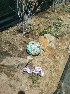 After seeing so many posts on diy garden globes, I just had to try it. I started searching for old bowling balls but all I found were priced too high. Then litt…