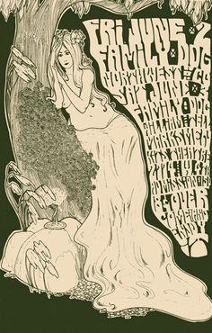 Bob Masse. Rock Posters.