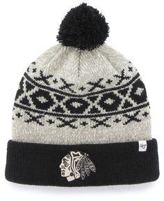 b95b157b065  47 Brand Chicago Blackhawks Pitkin Knit Hat Men - Sports Fan Shop By Lids  - Macy s