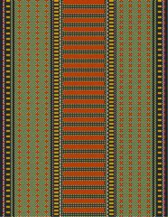 Gangewifre Weaving: Supplementary Warps - ideas and inspiration