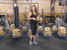 """Despicable Me - Minions on """"The Biggest Loser"""": Bananas - YouTube"""