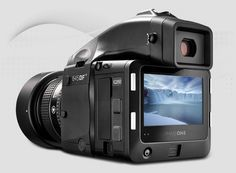 IQ2 series digital backs. The IQ260 looks like the one to get for long exposures.