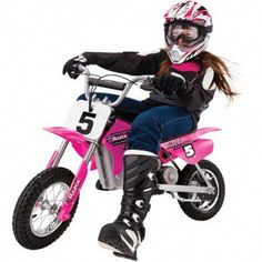 Electric Motocross Dirt Bike Pink Off Road Riding Sports Kids Motorcycle 24 Volt Electric Dirt Bike, Electric Power, Off Road Dirt Bikes, Bike Experience, Kids Ride On Toys, Kids Motorcycle, Dirt Bike Girl, Motocross Bikes, 54 Kg