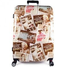 Marilyn Monroe Hard-shell Poly-carbonate Spinner Luggage Case [28 Inches]