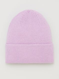 V By Very Ribbed Knitted Beanie, Lilac, Women - Lilac - Knit Beanie, Beanie Hats, Cool Beanies, High Leg Boots, Long Toes, Scarf Styles, Snug Fit, Knitted Hats, Knitting