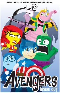 Avengers-Inside-Out by CuddleswithCats.deviantart.com on @DeviantArt