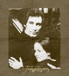 Timothy Dalton and Zelah Clarke in the BBC's 1983 Jane Eyre adaptation (TLE2015) #JaneEyre #charlottebronte