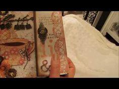 Garden Tea Party Mini Album 7-25-12 - YouTube