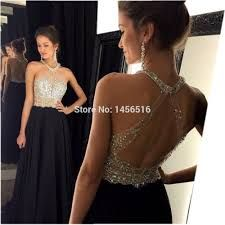 7cec24f5c4 Beautiful silver sequins Prom Dress
