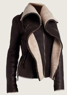 Jerome Dreyfuss Shearling Jacket perfection!