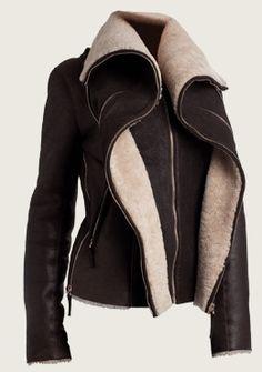 Jerome Dreyfuss Shearling Jacket perfection!