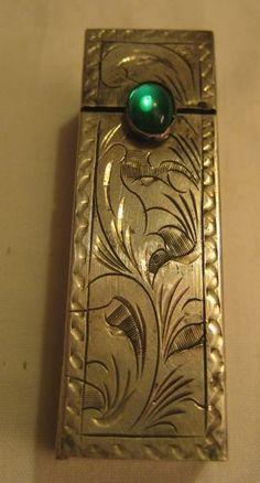 Sterling Silver Vintage Lipstick Case $36 SALE