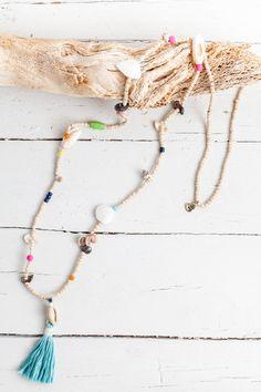 Boho Beach necklace- so easy DIY