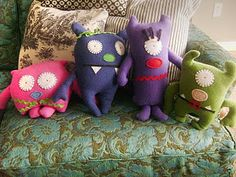 Homemade Ugly Dolls