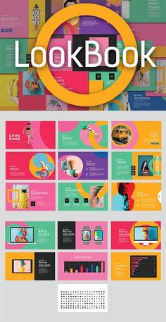 LookBook Pastel Keynote Powerpoint Design Templates, Creative Powerpoint, Keynote Template, Web Banner Design, Design Presentation, Presentation Templates, Youtube Banner, Banner Template, Best Banner