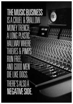 The Music Business - Hunter S Thompson