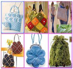 Crochet bolsos y carteras on pinterest crochet bags for Manualidades de ganchillo bolsos