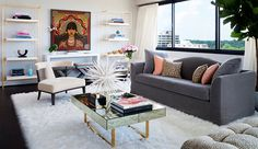 A 30 Year Old Condo Gets a Fashion-Forward Makeover | Rue