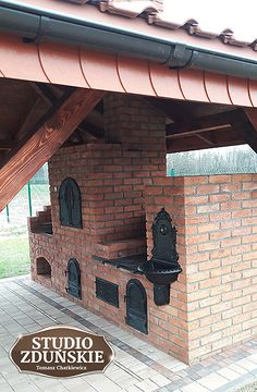 Bbq Grill Diy, Grilling, Brick Bbq, African House, Pizza Oven Outdoor, Outdoor Kitchen Design, Outdoor Areas, Garden Projects, My Dream Home