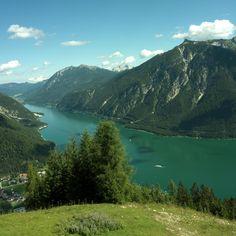 Achensee - Antonio Cisari©A.I.R.F. >>> Another shot of this delightful Tyrolean (Austrian) lake, in glorious sunshine. Nice one, Antonio Cisari.