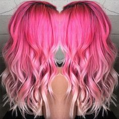 Candy pink ombre hair color to blonde~ love it? try it and 10 trips help you keep hair color longer