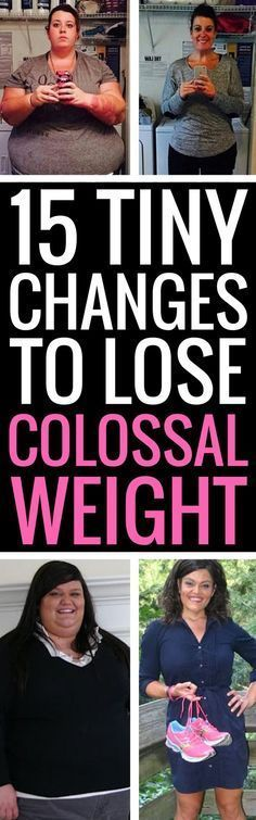 Lose weight faster by making these 15 small changes to your daily routine.