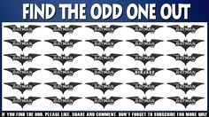 The Lego Batman Movie Puzzle | Find The Odd One Out | The Lego Ninjago P...