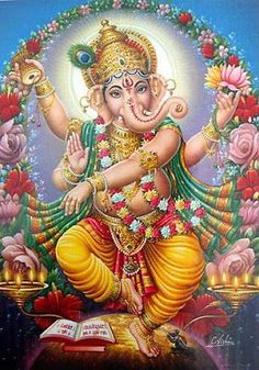 MANTRA per Superare gli Ostacoli (Om Gam Ganapataye Namaha Sharanan Ganesha Shiva Hindu, Hindu Deities, Hindu Art, Ganesh Ji Images, Ganesha Pictures, Ganesh Lord, Shri Ganesh, Hanuman, Ganesha Tattoo