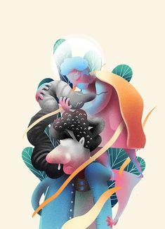 Holy on Behance Holi, Concept Art, Digital Art, Character Design, Illustration Art, Behance, Photoshop, Creative, Conceptual Art