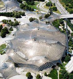 Munich Olympic Stadium Behnisch Frei Otto 1972 8