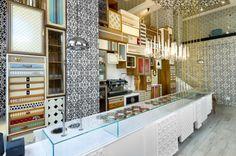 gelateria design - Pesquisa Google Gelato Shop, New Shop, Shops, Closet, Ice Cream, Design, Decoration, Home Decor, Ice Cream Shops