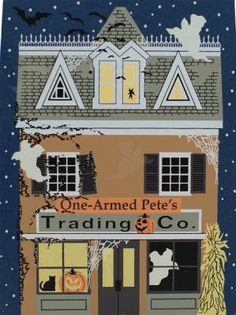 One-Armed Pete's Trading Co. is sure to have something you would want to trade for...| The Cat's Meow Village