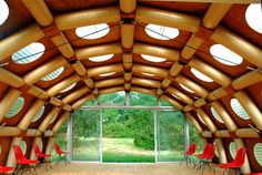 shigeru ban paper pavilion is his first permanent building in europe