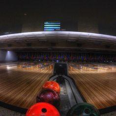 Bowling night! Photo and edit by @ce7on !  www.squidc.am #squidcamfisheye #bowling #bowl #300 #strike