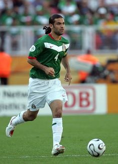 Rafael Marquez of Mexico in action at the 2006 World Cup Finals.