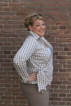 It's Afits patroon 1052 blouse en tuniek | Naaipatronen.nl | zelfmaakmode patroon online
