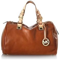 MICHAEL Michael Kors Large Satchel Handbag.  This is not bad. Doesn't hVe the Mk all over the bag
