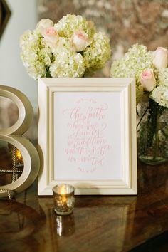The South Print in Pink from SouthernWeddingShop.com | Mustard Seed Photography #wedding