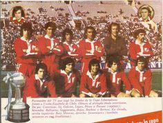 1975 Campeon de America - Club Atletico Independiente, con Percy Rojas